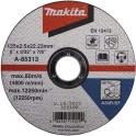 Круг отрезной по металлу Makita A-85313 125x2.5x22