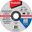 Круг отрезной по металлу Makita A-85335 230х2.5х22